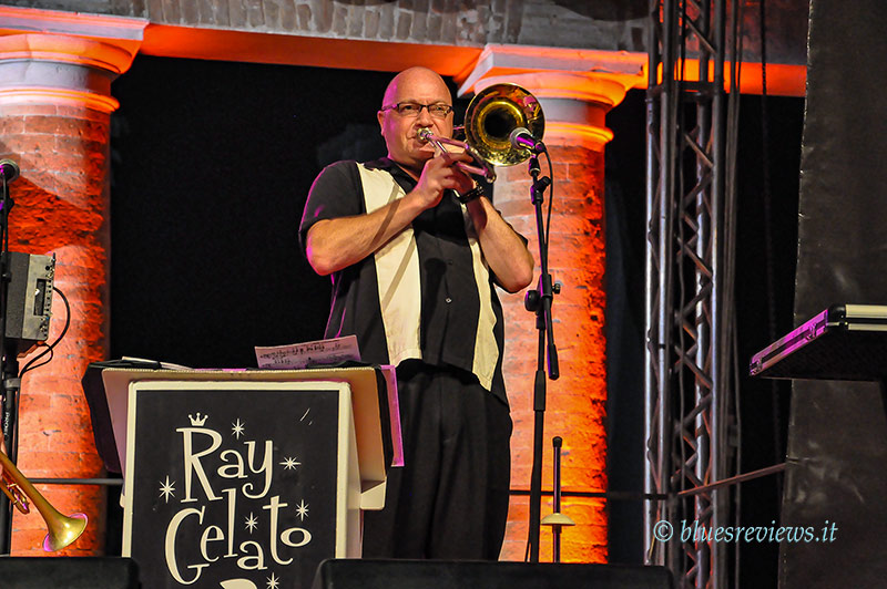 Andy Rogers - Ray Gelato Band