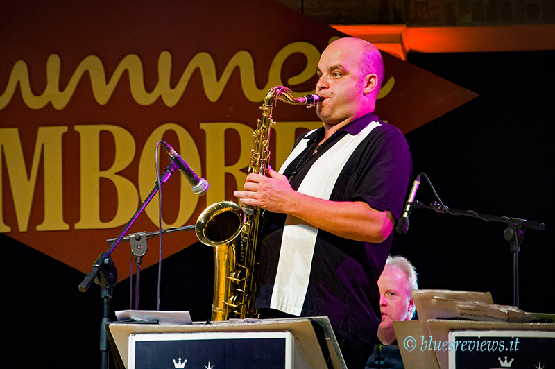 Ollie Wilby - Ray Gelato Band