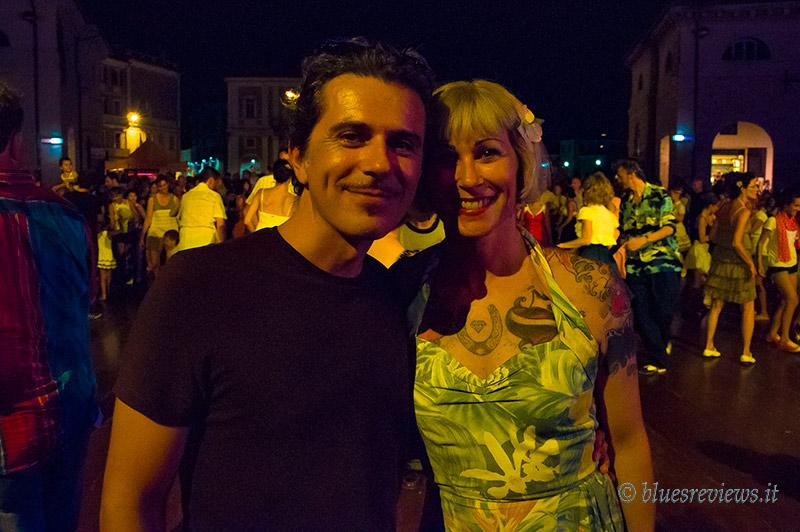 Marco Pandolfi ed Enrica