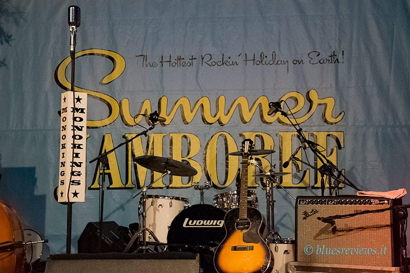 Palco Summer Jamboree a Corinaldo (AN)