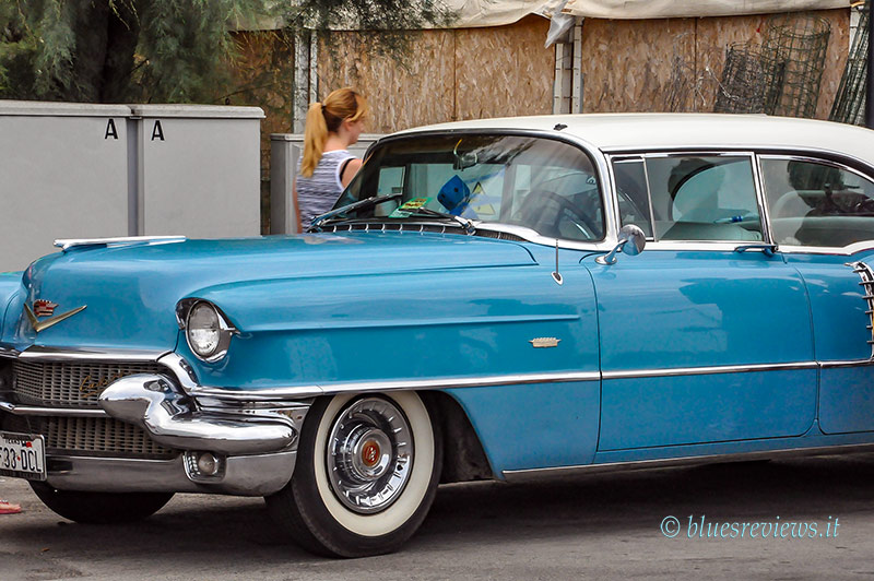 60's Light blue Cadillac