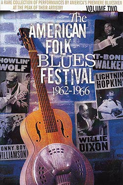 Cover of The American Folk Blues Festival vol. 2 DVD