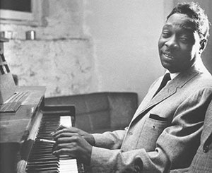 Otis Spann at the piano