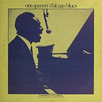 "Vinyl cover of ""Otis Spann's Chicago Blues"" (Testament Records)"