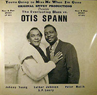 The Everlasting Blues vs Otis Spann (Spivey Records)