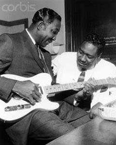 Muddy Waters and Otis Spann
