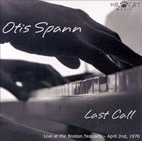 "Cover of Otis Spann's ""Last Call"""
