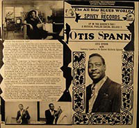 "Spann's ""Up in the Queen's Pad"" (Spivey Records) vinyl cover"