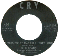 """Tribute to Martin Luther King"", 45 rpm Cry Records"