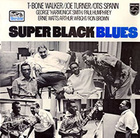 Super Black Blues vinyl cover (Flying Dutchman/Bluestime Records)