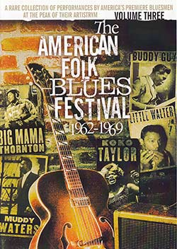 """American Folk Blues Festival vol. 3"" DVD cover"