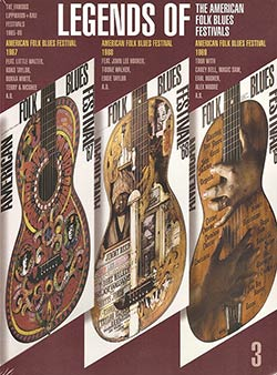 Legends of The American Folk Blues Festivals DVD cover