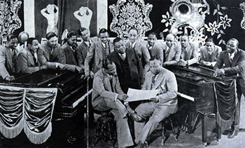 Count Basie, Jimmy Rushing, Bennie Moten and Orchestra