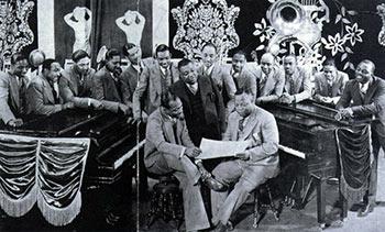 Count Basie, Jimmy Rushing, Bennie Moten