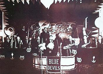 The Blue Devils at Ritz Ballroom in 1931