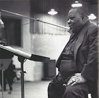 Jimmy Rushing in the studio