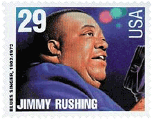 Jimmy Rushing stamp
