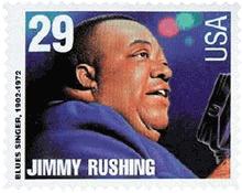 Jimmy Rushing stamp