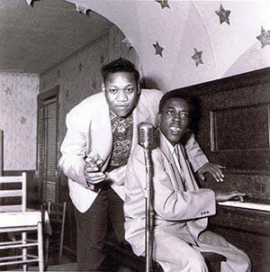 Bobby Bland & Rosco Gordon in Memphis