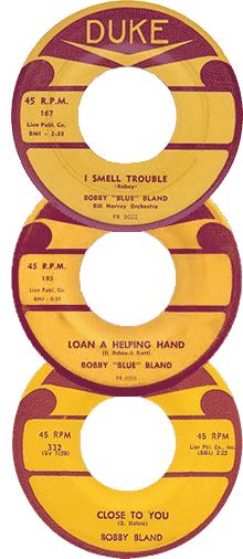 Bobby Bland's records
