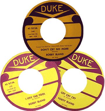 Bobby 'Blue' Bland Duke's records