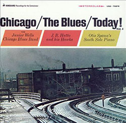 Chicago/The Blues/Today! CD cover (Vanguard Records)