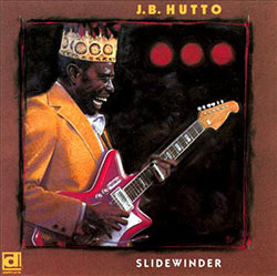 J.B. Hutto, Slidewinder CD cover (Delmark Records)