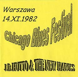 J.B. Hutto & The New Hawks, Live in Poland bootleg (1982)