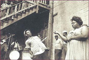 Dancers in Maxwell Street (1966)
