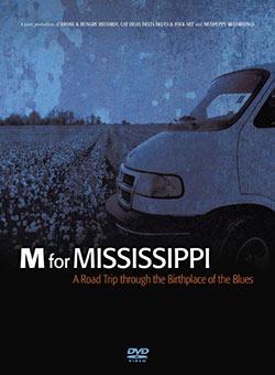 M for Mississippi, DVD cover