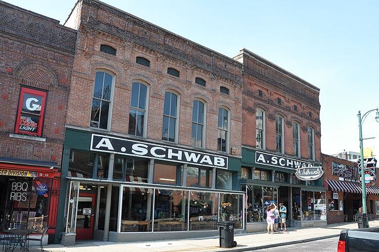 A. Schwab shop, Beale Street, Memphis, Tn