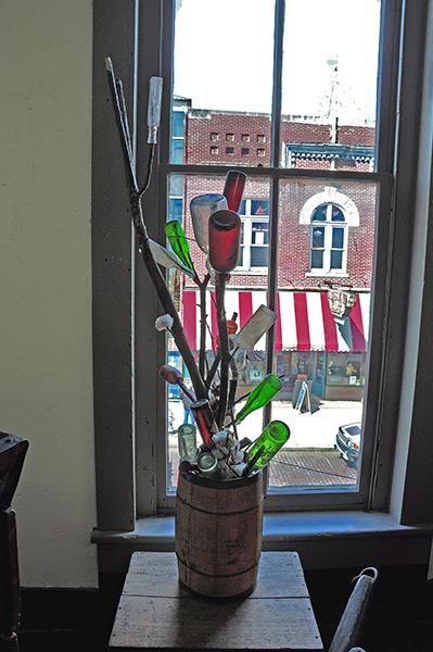 A. Schwab shop, bottle tree