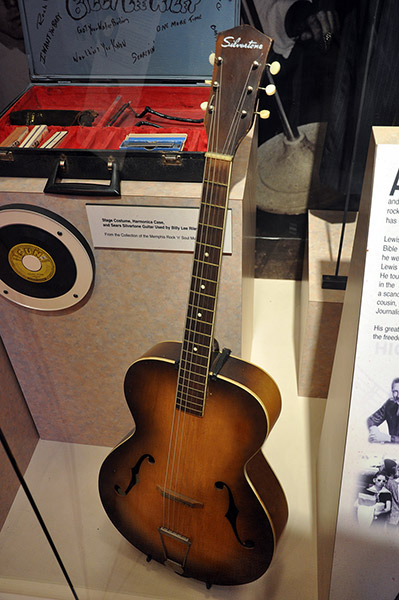 B.L. Riley Silvertone guitar