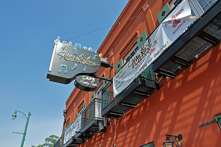 Jerry Lee Lewis' Cafe & Honky Tonk on Beale Street, Memphis, Tn