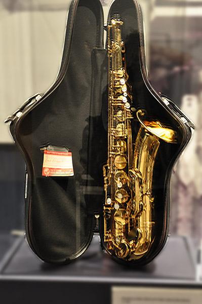 Ben Branch's saxophone