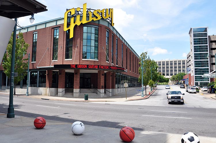 Gibson Factory, Memphis, Tennessee