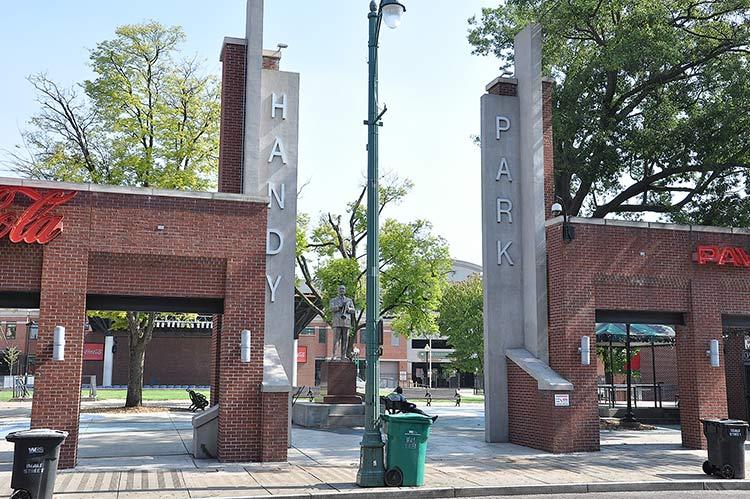 Handy Park, Beale Street, Memphis, Tn