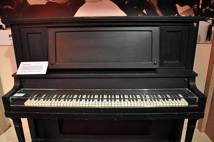 Ike Turner's first piano