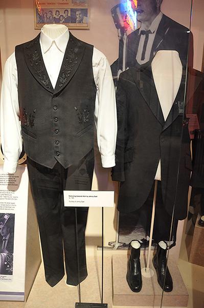 Johnny Cash's costume