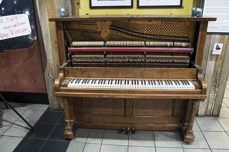 Mose Vinson's piano