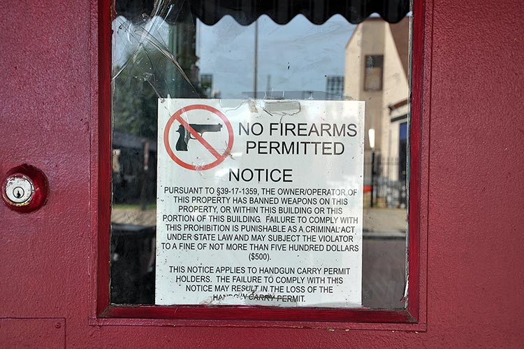 No firearms permitted on Beale Street