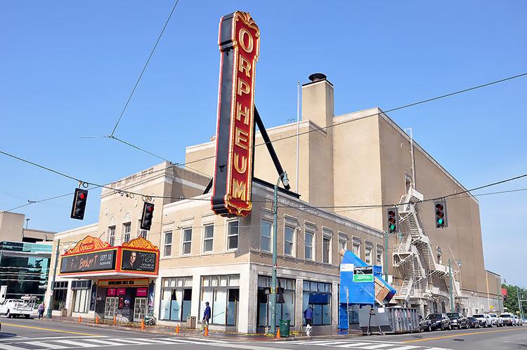 Orpheum Theater, Memphis, Tn
