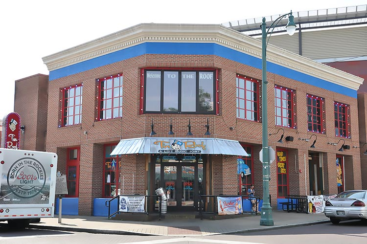 Pee Wee's Saloon former site