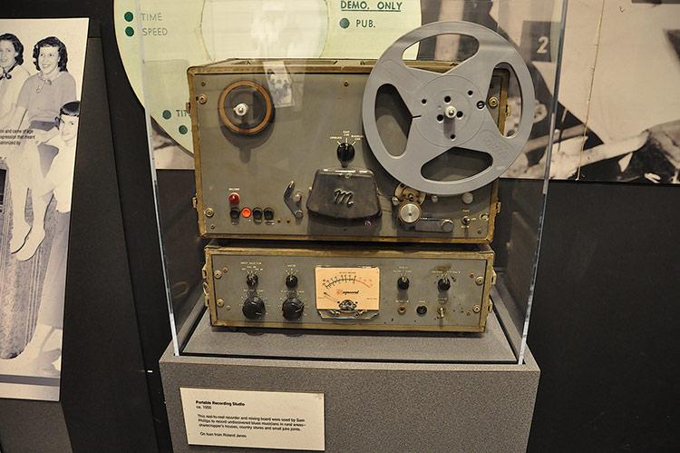 Sam Phillips's portable recorder