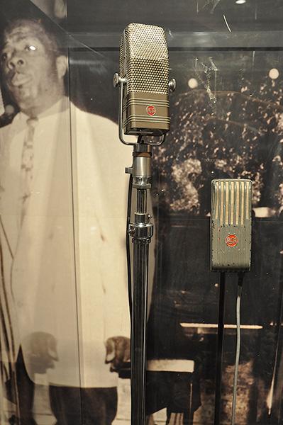 Vintage RCA microphones