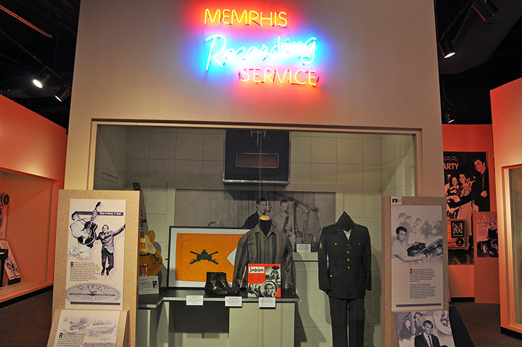 Rock 'n' Soul Museum, Memphis, Tennessee