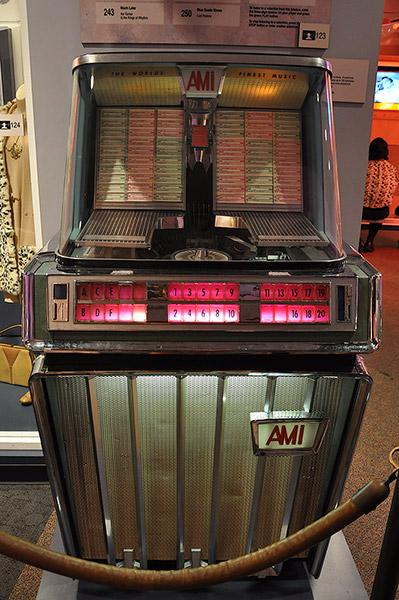 jukebox, Rock 'n' Soul Museum