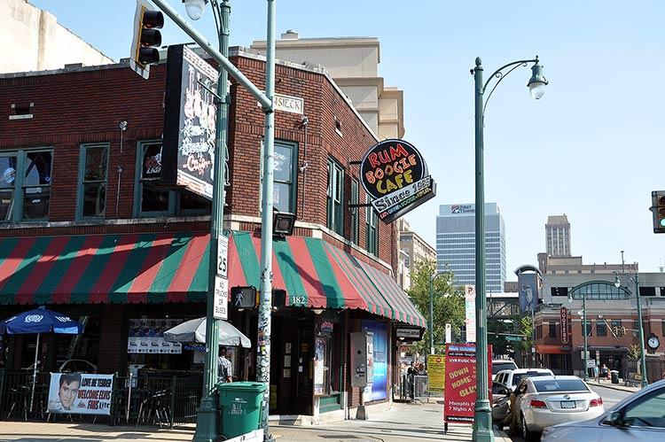Rum Boogie Cafe, Beale Street, Memphis, Tn