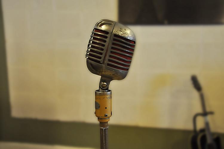Sun Studio, Elvis microphone
