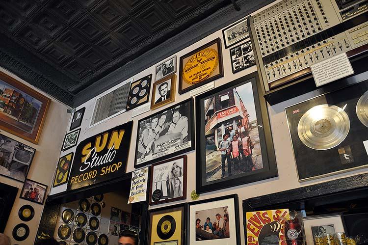 Sun Studio Cafe, Memphis, Tn